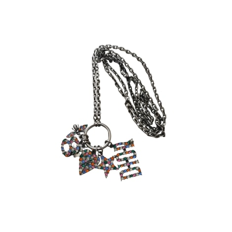 Long Necklace DIOR Silver