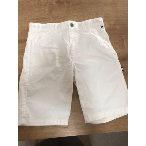 Short TOMMY HILFIGER Blanc, blanc cassé, écru