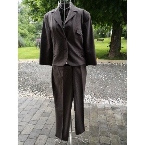 Tailleur pantalon CAMAIEU Marron