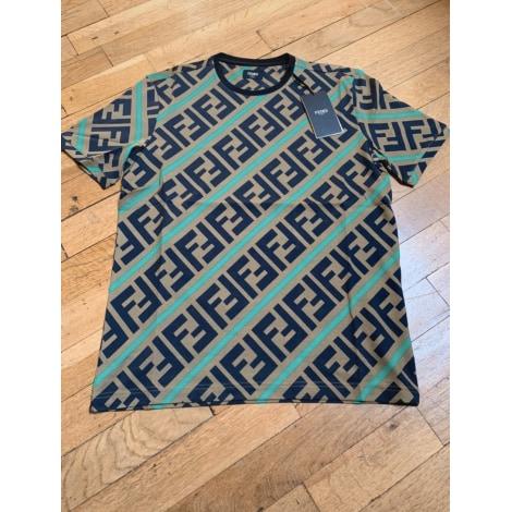 Tee-shirt FENDI Beige, camel