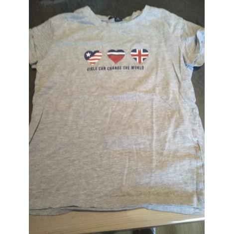 Top, Tee-shirt KIABI Gris, anthracite
