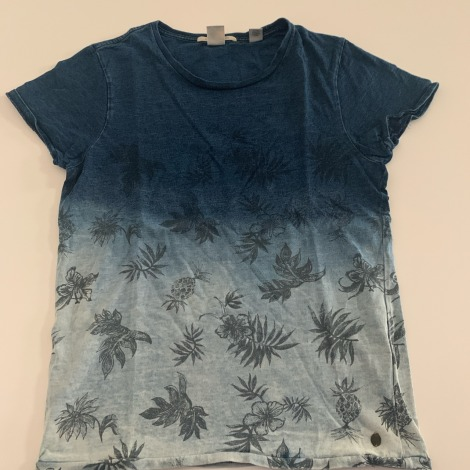 Tee-shirt SCOTCH & SODA Bleu, bleu marine, bleu turquoise