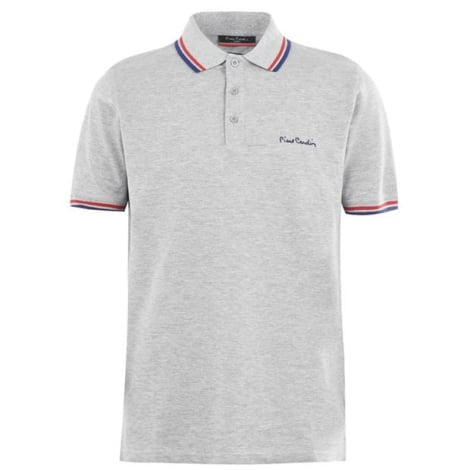Polo PIERRE CARDIN Gris, anthracite