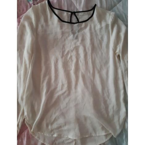 Top, tee-shirt CHANA Blanc, blanc cassé, écru