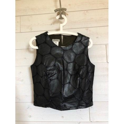 Top, tee-shirt SASSIA Noir