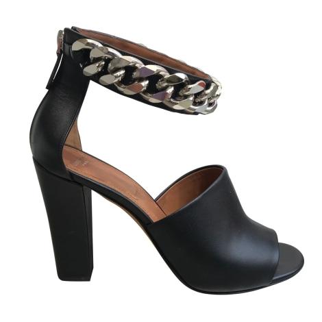 Sandales à talons GIVENCHY Noir