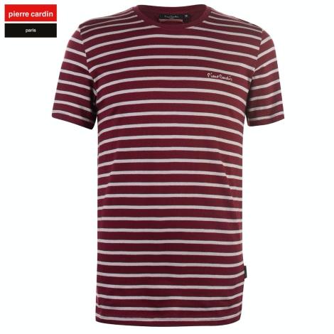Tee-shirt PIERRE CARDIN Rouge, bordeaux