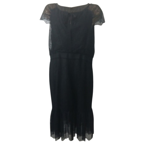 Robe mi-longue CAROLINA HERRERA Noir