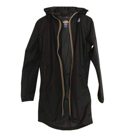 Imperméable, trench K-WAY Noir