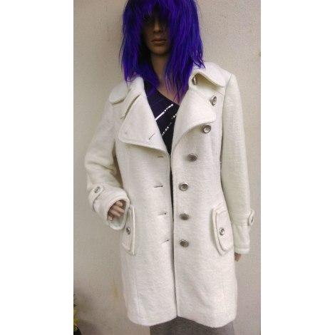 Manteau BRÉAL Blanc, blanc cassé, écru