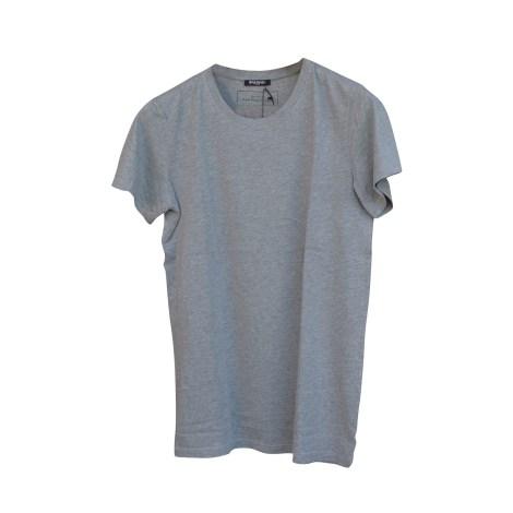 Tee-shirt BALMAIN Gris, anthracite