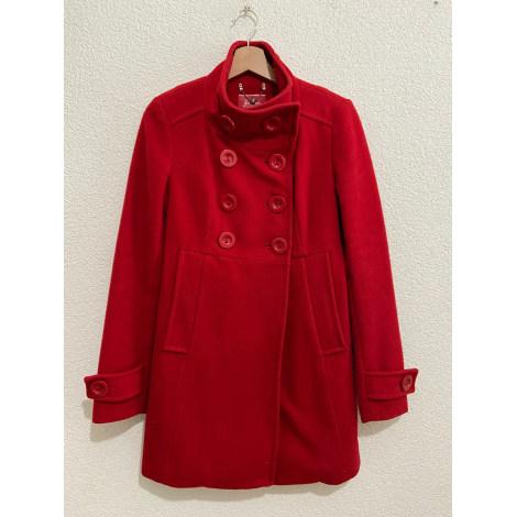 Manteau STRADIVARIUS Rouge, bordeaux