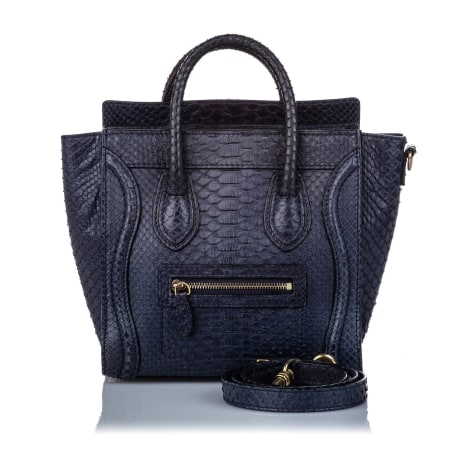 Sacoche CÉLINE Luggage Blue