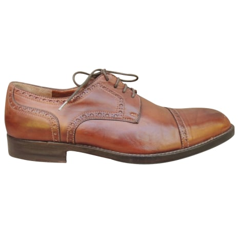 Chaussures à lacets FRATELLI ROSSETTI Marron