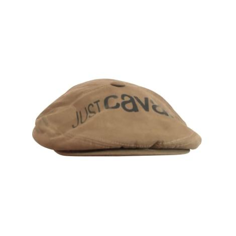 Casquette JUST CAVALLI Beige, camel