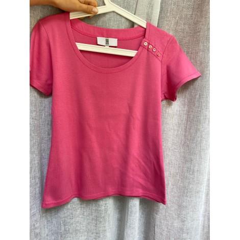 Top, tee-shirt IRENE VAN RYB Rose, fuschia, vieux rose