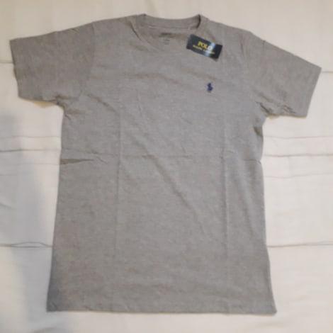 Tee-shirt RALPH LAUREN Gris, anthracite