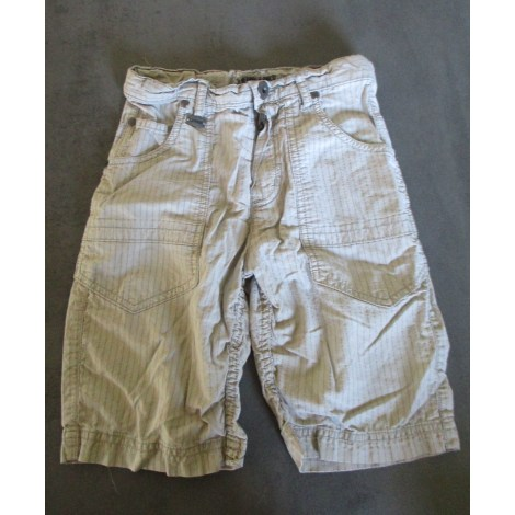 Short IKKS Blanc, blanc cassé, écru