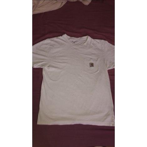 Tee-shirt CARHARTT Blanc, blanc cassé, écru