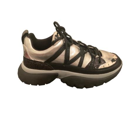 Sneakers MAJE Silberfarben, stahlfarben