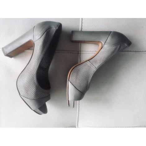 Sandales à talons JANET & JANET Gris, anthracite