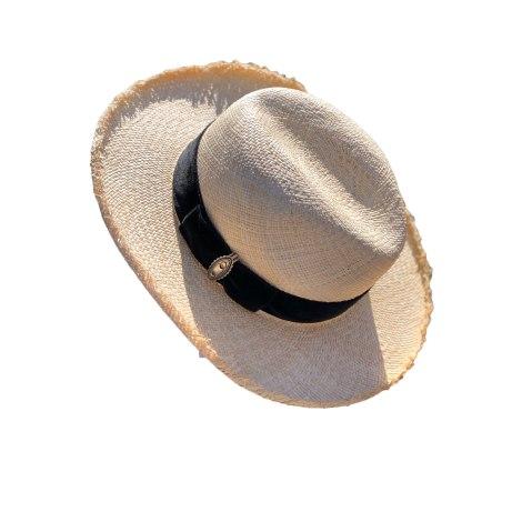 Chapeau THE KOOPLES Blanc, blanc cassé, écru
