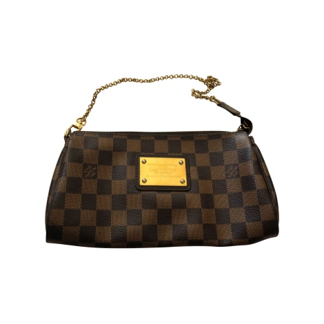 Pochette LOUIS VUITTON Eva Marron