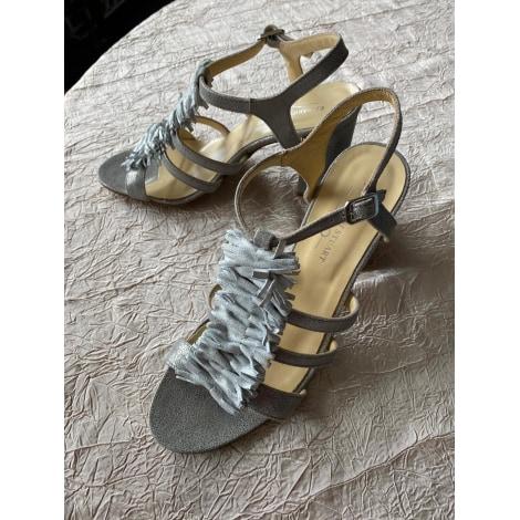 Sandales à talons ELIZABETH STUART Argenté, acier
