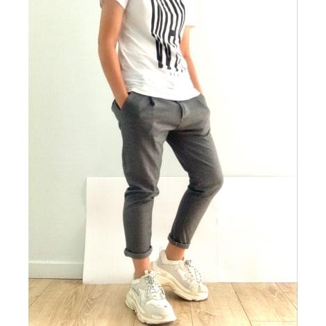 Pantalon slim UNIPLAY Gris, anthracite