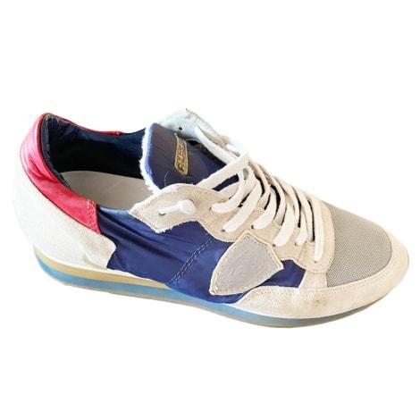 Baskets PHILIPPE MODEL Bleu, bleu marine, bleu turquoise