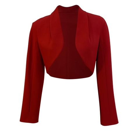 Blazer, veste tailleur PAULE KA Rouge, bordeaux