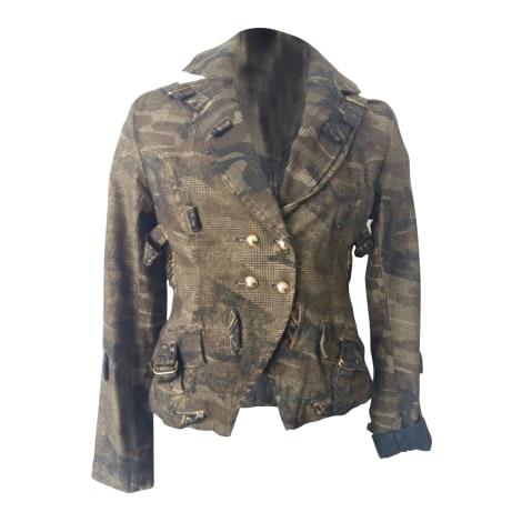 Blazer, veste tailleur GIANFRANCO FERRE Kaki