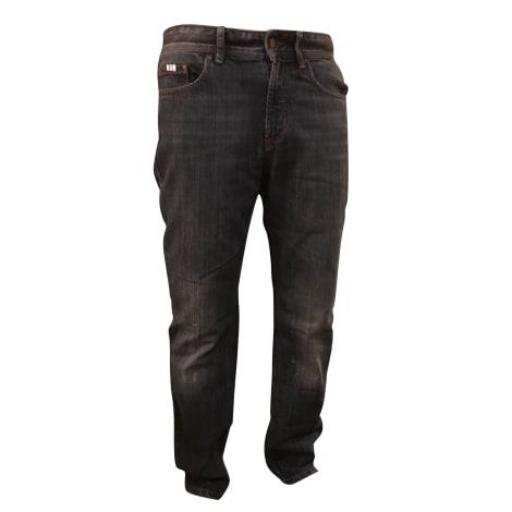 Jeans droit CERRUTI 1881 Bleu, bleu marine, bleu turquoise