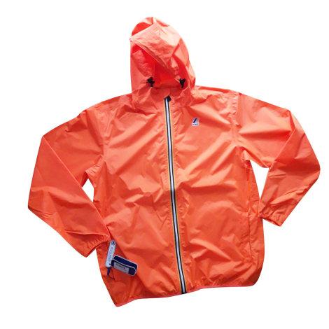Imperméable, trench K-WAY Orange