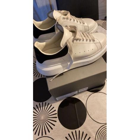 Baskets ALEXANDER MCQUEEN Oversize Blanc, blanc cassé, écru