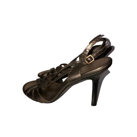 Sandales à talons BCBG MAX AZRIA Doré, bronze, cuivre