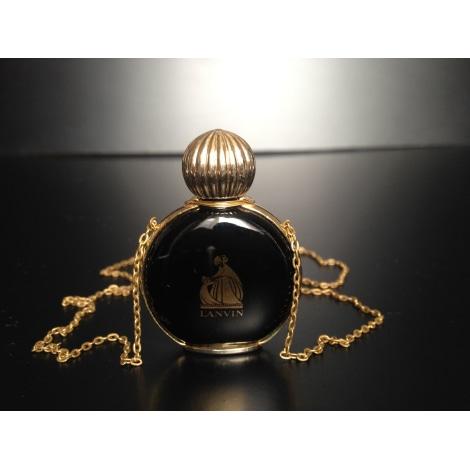 Pendentif, collier pendentif LANVIN Noir