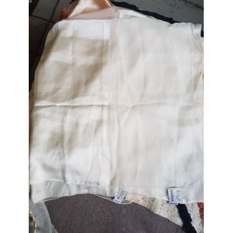 Foulard RODIER Blanc, blanc cassé, écru