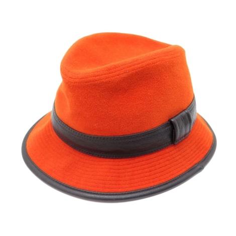 Chapeau HERMÈS Orange