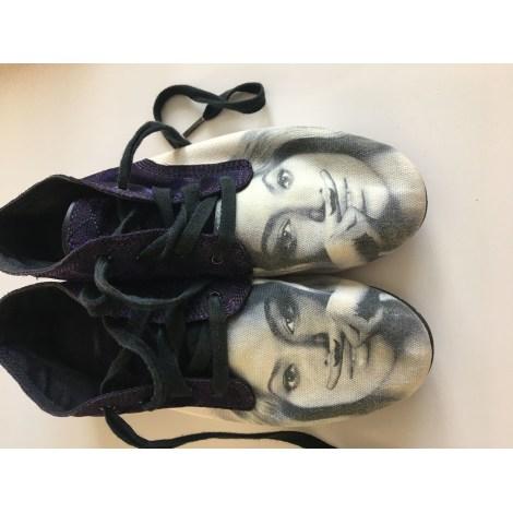 Chaussures à lacets  ELEVEN PARIS Blanc, blanc cassé, écru