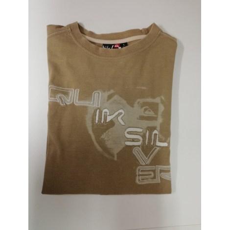 Tee-shirt QUIKSILVER Beige, camel