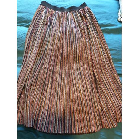 Jupe longue OPULLENCE Doré, bronze, cuivre