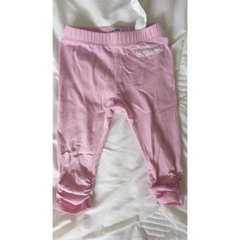 Pantalon IKKS Rose, fuschia, vieux rose