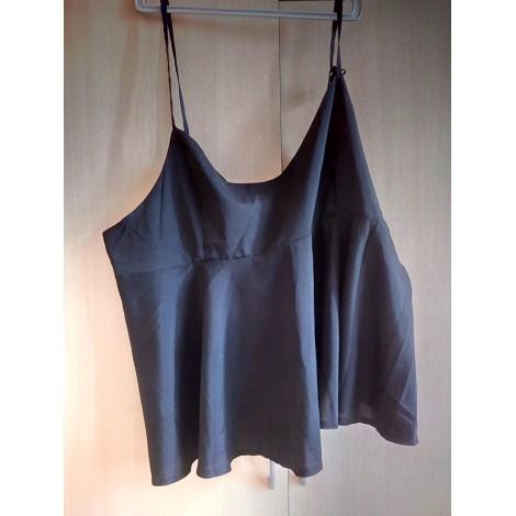 Top, tee-shirt SHEIN Noir