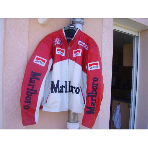 Blouson RACING MALBORO Rouge, bordeaux