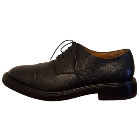 Lace Up Shoes SALVATORE FERRAGAMO Black