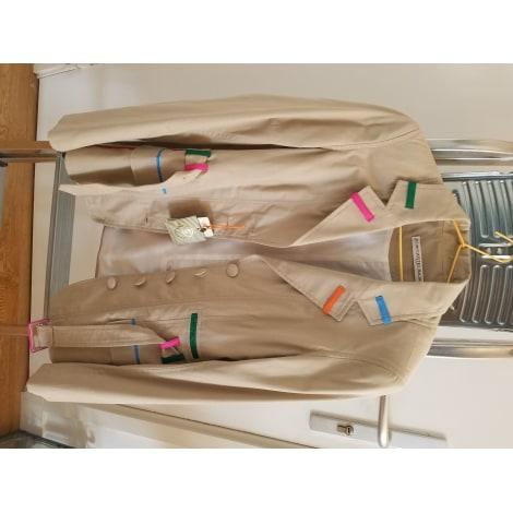 Tailleur pantalon JC DE CASTELBAJAC Beige, camel