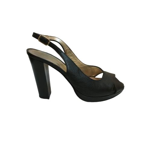 Sandales à talons ANN TUIL Noir