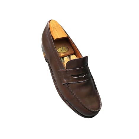 Mocassins JM WESTON Marron