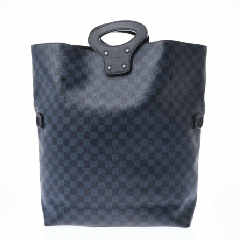 Sac à main en tissu LOUIS VUITTON Gris, anthracite